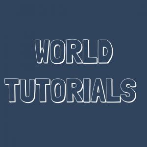 minecraft world tutorials