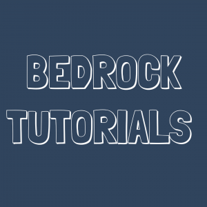 minecraft bedrock tutorials