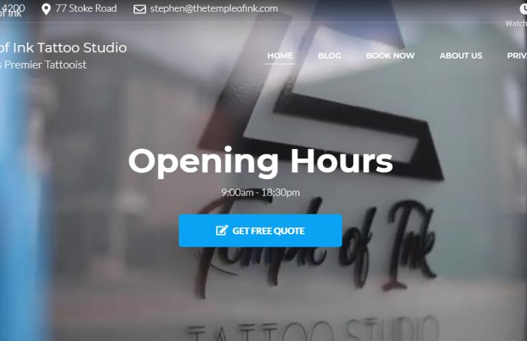 Our Newest Website Design
