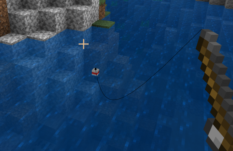 how to make a fishing rod in Minecraft