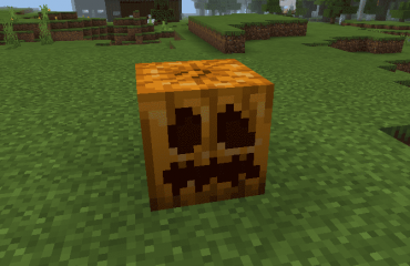how to carve a pumpkin in Minecraft
