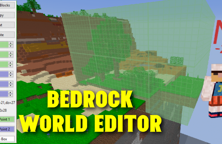 Word Editor For Bedrock Using Amulet