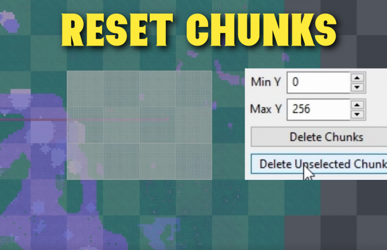 How to Reset Chunks in Minecraft World with Amulet