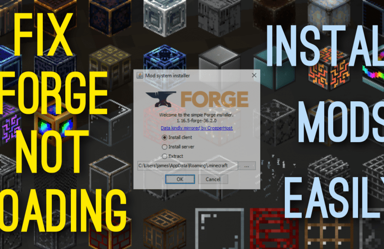 Minecraft Forge Installer Not Opening